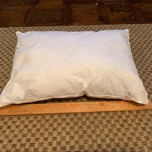 19x10 rectangle feather pillow insert